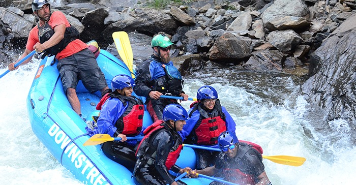 White Water Rafting in Lower Clear Creek Canyon | Downstream