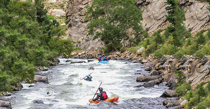 Full-Day White Water Rafting Trip on Clear Creek | Downstream Adventures
